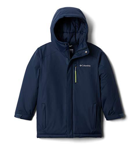 Columbia II Jacket, Alpine Free Fall Giacca da Sci Bambino, Collegiate Navy, M