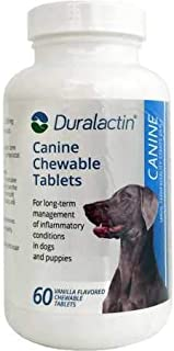 Veterinary Products Duralactin Canine, 60 Chewable Tablets