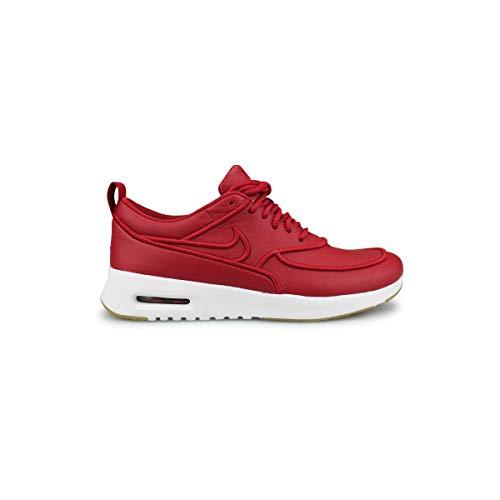 Nike - Zapatillas de Deporte de Otra Piel Mujer, Rojo (rojo), 36 EU
