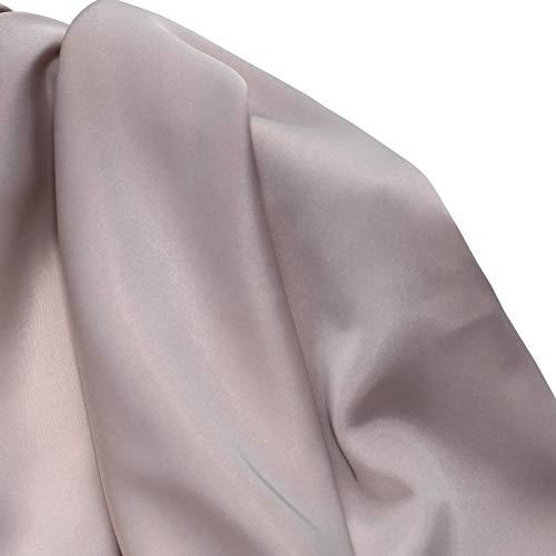 MUYUNXI Tela De Raso Forro De Tela para Vestidos De Novias Fundas Artesanas Vestidos Blusas Ropa Interior 150 Cm De Ancho Vendido por 2 Metro(Color:Albaricoque)