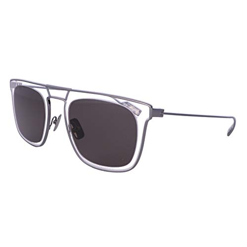 Ferragamo Metal Sunglasses Grey/Crystal