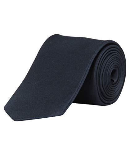 OLYMP Krawatte regular aus reiner Seide Nano-Effekt dunkelblau