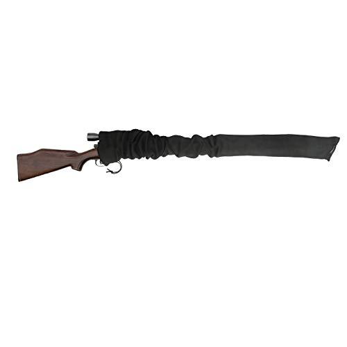 Tourbon Gewehr Sack Aufbewahrung Gun Socke Shotgun Fall Sleeve 134,6 cm - schwarz