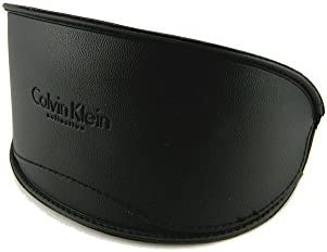 New Calvin Klein Vinyl Large Sunglasses Case Black product image