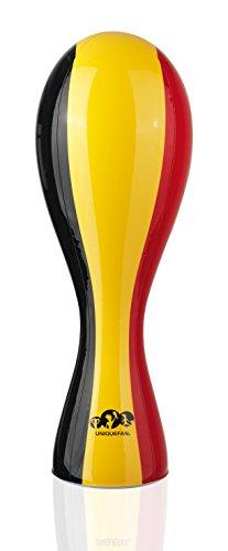 UniqueFan NEU Aufblasbarer Plastik Pokal Belgien 52cm Fan-Spaß für Weltmeister & Pokaljäger! Einzigartiger Fan-Artikel für Fußballstadion, Public Viewing und Fan-Deko Russland 2018
