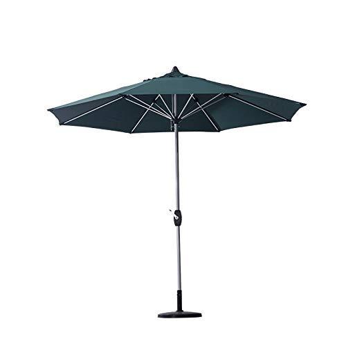 HUAQINEI Sombrilla de Patio/Sombrilla de terraza Paraguas de Pulpo Impermeable y Resistente a los Rayos UV Aleación de Aluminio,Adecuado para familias,áreas de recreación al Aire Libre,Playas
