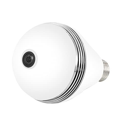 YUNYODA WiFi Cámara de Vigilancia Interior Visión Nocturna, Dome Cámara de Vigilancia WiFi 1080P CAM IP HD Visión Nocturna Detección Privacidad Inteligente