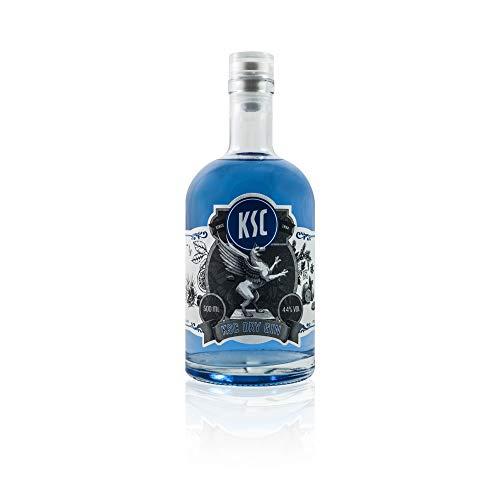 Breaks KSC Gin - Einzigartiger Gin mit Lavendel & frischen Zitronen - Milde Florale Note - Handmade in Karlsruhe - 1 x 0,5 l