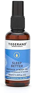 Tisserand Sleep Better Massage and Body Oil 100 ml, 100 milliliters