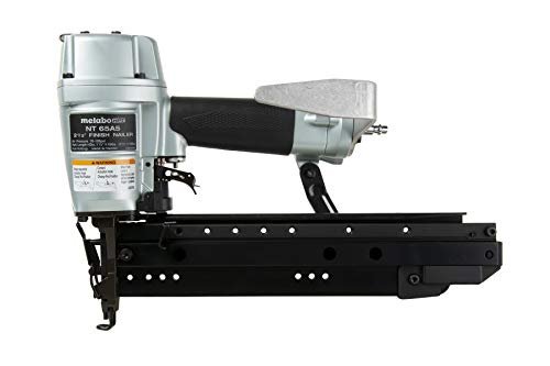 Metabo HPT Pro Finish Nailer, 16-Gauge, Pneumatic, Accepts 1-1/2-Inch to 2-1/2-Inch Straight Finish Nails, High Grade Aluminum and Steel Magazine, (NT65A5)