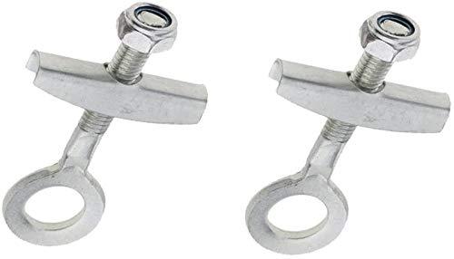 47cc 49cc Pocket Mini Dirt Motor Bike Achse Kettenspanner Schraubenspanner 2 Stück