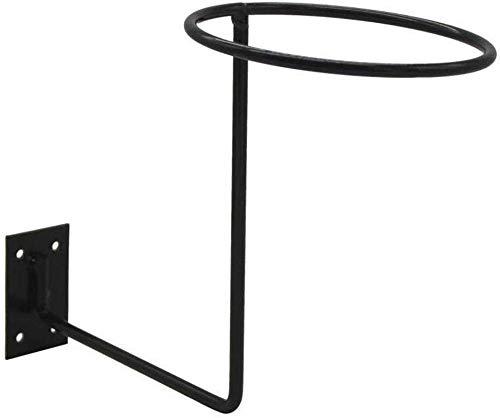 Wandhalterung Display Rack Motorrad Helm Hut Rack Perücke Kugel Aufbewahrung Halter Schwarz Display Aufhänger - Schwarz