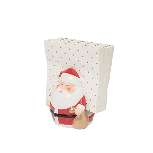 C&F Home Santa Claus Single Napkin Holder