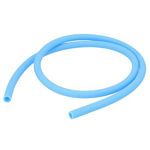 AO® Shisha Schlauch - Silikonschlauch Matt In Sky Blue - 150 cm Länge - Passend Für Alle Shisha Adapter & Shisha Mundstücke - Soft-Touch Oberfläche