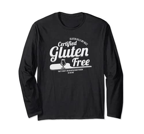 Cadeau de bière certifié sans gluten pour allergie céliaque Manche Longue