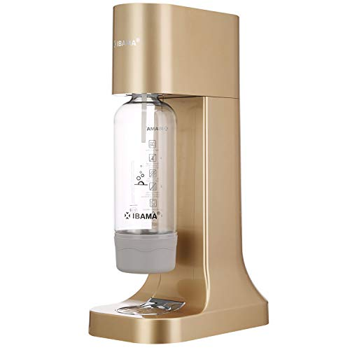 IBAMA Sparkling Water Maker Soda Drink Carbonated Water Machine Easy Fizzy...