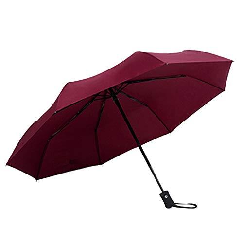 yuiy Windproof Double Layer Inverted Umbrellas Reverse Folding Umbrella UV Protection