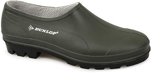 Dunlop Gartenschuhe, Unisex, Clogs, Gummistiefel, grün - Green Pvc - Größe: 40 2/3 EU