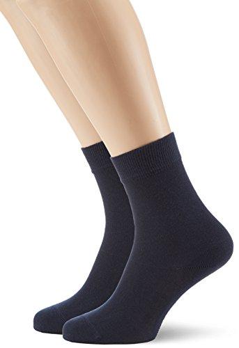 Hudson Damen Socken, 025011 Only, 2er Pack, Gr. 39/42, Blau (Marine 0335)