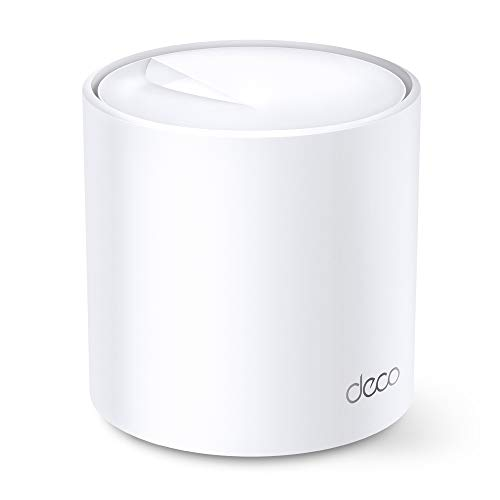 TP-Link Deco WiFi 6 Mesh WiFi System(Deco X20) - Covers up to 2200 Sq.Ft, Replaces Wireless Internet Routers and Extenders, 1-Pack