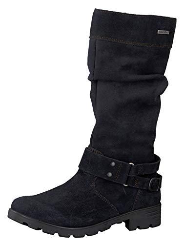 RICOSTA Fille Bottes & Boots Riana, Bottes Classiques, Lassie Bottes,Bottes à Tige Longue,doublées,Fermeture éclair,imperméable,See,37 EU / 4 UK