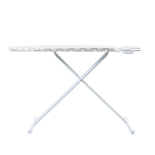 Ryuyu Tabla de Planchar Tabla de Planchar para el hogar Tabla de Planchar de Hierro Plegable con Piso de Malla de Acero Tabla de Planchar Estable Tabla de Planchar-UN