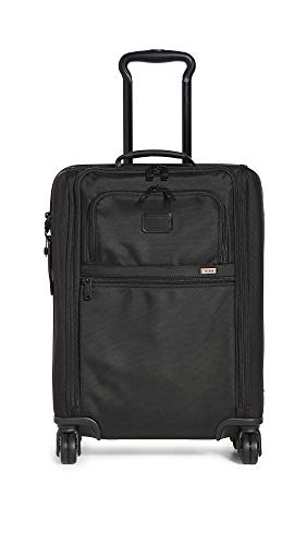 TUMI - Alpha 3 International Slim Super Leger Carry-On - 22 Inch Rolling Suitcase for Men and Women - Black