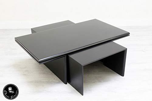 Classic Interior Leolux Couchtisch Tisch Designer Stilmöbel Schwarz