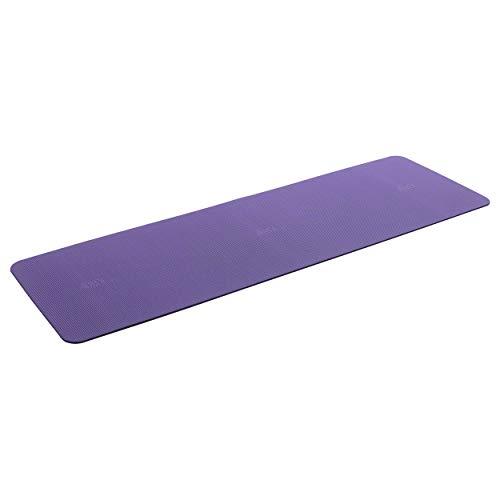 AIREX Pilatesmatte Yogamatte Pilates Gymnastik Fitness Matte 190 cm lila