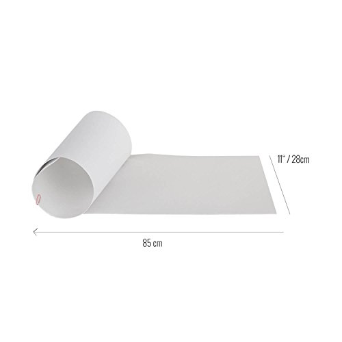 Rellik - Longboard Griptape Clear Grip 28x85 cm, colore: Trasparente