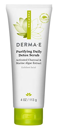 DERMA-E Purifying Daily Facial Detox Scrub, 4 oz