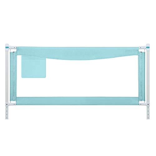 Extra lange Bed Rails voor kinderen | Peuter Veiligheid Guardrail, Verticale Lifting, Verstelbare Hoogte | Baby Bed Safety Guard Anti-Drop - met Lock and Washable Cover