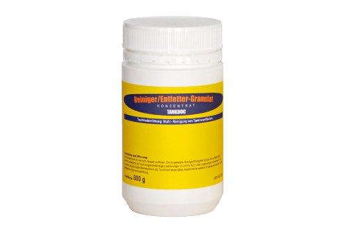 Tankdoc Tankreiniger/Entfettet für Motorrad und PKW bis 20 Liter (Reiniger 800g)