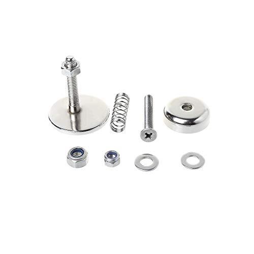 Ranuw Fahrradschnalle, zusammenklappbar, spezieller professioneller magnetischer Magnet, für Fahrräder, Reparaturzubehör, Teile aus Metall