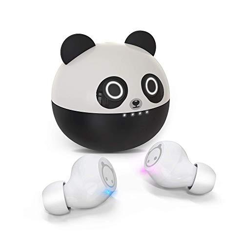 Amaface Kabellose In-Ear-Kopfhörer, Bluetooth Kopfhörer mit Dual-Mikrofon und Touch-Steuerung, Kopfhörer Kabellos 36 Stunden Wiedergabe, Panda Kopfhörer als Geschenk…