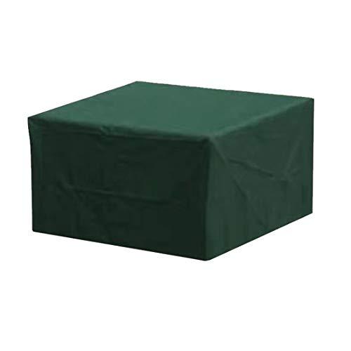 CH-GTJ Funda para Muebles De Jardín,420D Oxford Impermeable Anti-UV Protección Copertura para Mesas,Cubierta De Exterior Funda Protectora Muebles Mesas Sillas Sofás Muebles,Verde,180x120x70cm