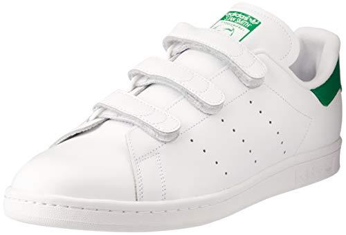 adidas Stan Smith Cf, Scarpe Sportive Outdoor Uomo, Bianco (Blanc (Ftwr White/Ftwr White/Green)), 43 1/3 EU