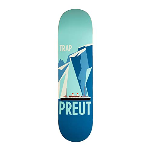 TRAP Skateboard Deck Ship Ian Preut 8.375