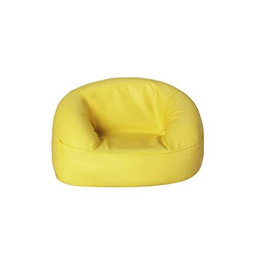YUMEIGE Kruk Kleine Kruk, Kinderstoel, Sponge+PVC, Kid fauteuil voor 3 Jaar Oud of Jonger Kind Gebruik, Kinderen Roundy Stoel voor Slaapkamer Kinderen Kamer Laden 22 Kg