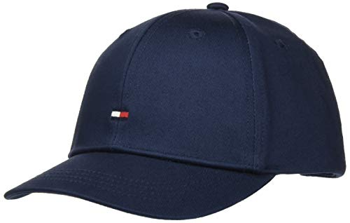 Tommy Hilfiger Unisex Kinder BB Cap Hut, Marineblau (Twilight Navy), Small