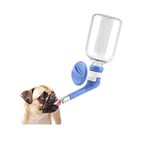 Andiker Tropffreie Hunde Wasserspender Flasche Hundehütte Käfig Wasserspender Wassertränke Wasserkocher für Haustiere