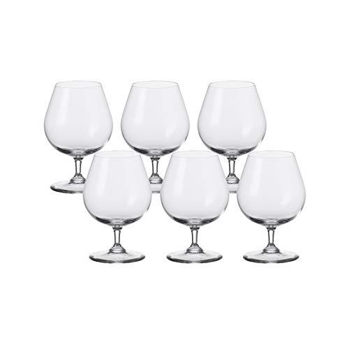 Leonardo Cognac Glas 6er-Set Ciao+