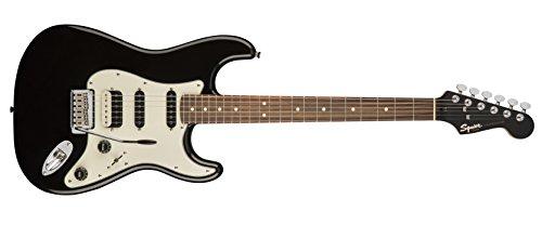 Squier by Fender Contemporary Stratocaster Guitarra eléctrica – HSS – Diapasón de palisandro – Negro Metálico