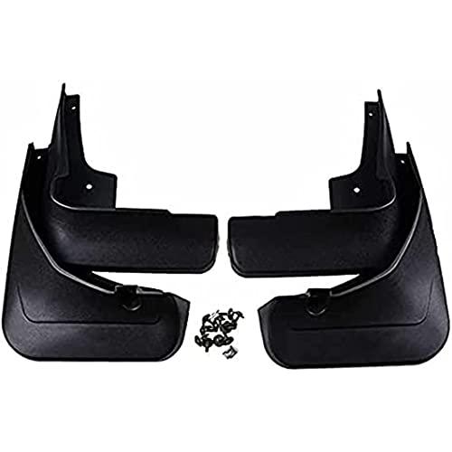 ZHFF 4 Pcs Coche ABS Salpicaduras Guardabarros, para Mercedes Benz GLC-Class GLC X253 2016-2019 Auto ProteccióN Cubierta Delantero Trasero Mudguards Stylling Accesorios