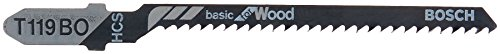 Bosch T119BO 3-Inch 12-Tooth Jig Saw Blades (5-Pack)