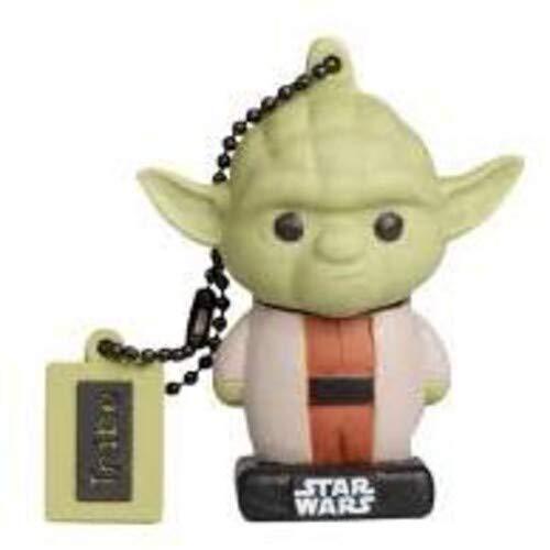 Llave USB 32 GB Yoda - Memoria Flash Drive 2.0 Original Star Wars, Tribe FD030710