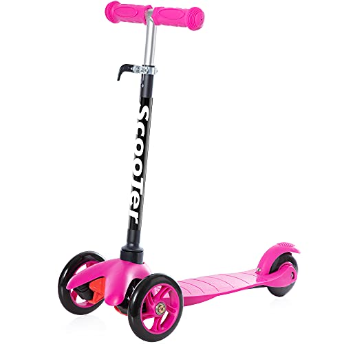 Scooters for Kids Toddler Scooter - Deluxe Aluminum 3 Wheel