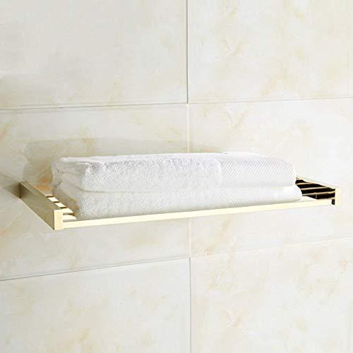 BXU-BG Toallero toallero barra de cobre esmalte estilo moderno baño hardware durante el baño estante 50 cm