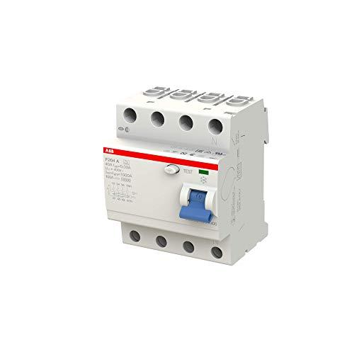 ABB Fi-Schutzschalter 2CSF204101R1400, 4-polig, F204A-40/0,03 - 2