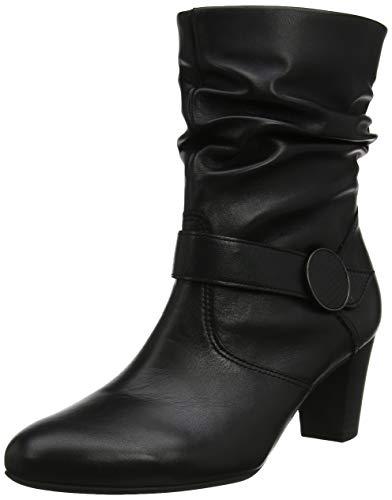 Gabor Damen Comfort Fashion Stiefeletten, Schwarz (Schwarz (Micro) 57), 37.5 EU